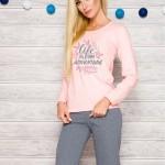 Dámské pyžamo 286 Sylwia pink