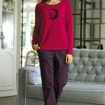 Dámské pyžamo 3071 red