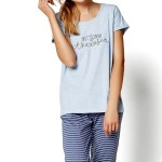 Dámské pyžamo 35248 blue