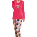 Dámské pyžamo Amanda červené