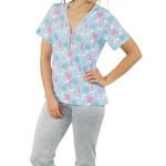 Dámské pyžamo Angie květy