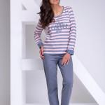 Dámské pyžamo Blanka 1023-02 grey