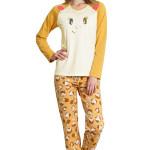 Dámské pyžamo Camille ježek