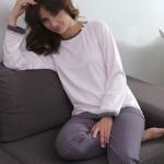 Dámské pyžamo Cana 001 dl/r 2XL
