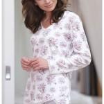 Dámské pyžamo Cana 004 dl/r 2XL