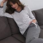 Dámské pyžamo Cana 007 dl/r 2XL