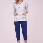 Dámské pyžamo Cana 182 3/4 S-XL