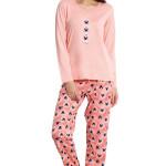 Dámské pyžamo Cristina růžové