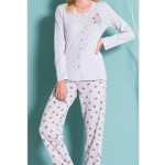 Dámské pyžamo dlouhé Aneta