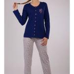Dámské pyžamo dlouhé Elena