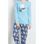 Dámské pyžamo dlouhé Lední medvěd