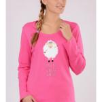 Dámské pyžamo dlouhé Malá ovce