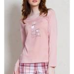 Dámské pyžamo dlouhé Malí méďové