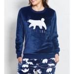Dámské pyžamo dlouhé Méďa