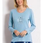 Dámské pyžamo dlouhé Méďa Gratulant