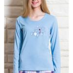 Dámské pyžamo dlouhé Méďa s medem