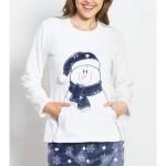 Dámské pyžamo dlouhé Snowman