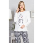 Dámské pyžamo dlouhé Winter – Vienetta