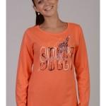 Dámské pyžamo dlouhé Žirafa Sweet 4363 – Vienetta