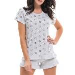 Dámské pyžamo Dn-nightwear PM.9225