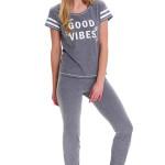 Dámské pyžamo Dn-nightwear PM.9488