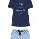 Dámské pyžamo FA6473AB Noidinotte