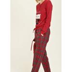 Dámské pyžamo FA6644PB – Noidinotte