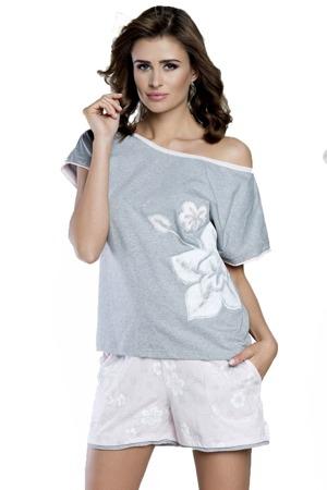 da528ee25c17 damske-pyzamo-inez-melange.jpg. Dámské pyžamo Inez Italian Fashion - z  bavlny ...
