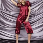 Dámské pyžamo Irina wine