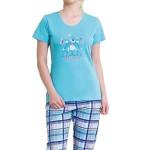 Dámské pyžamo Jovana modří medvídci
