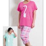 Dámské pyžamo kapri Labuť