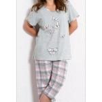 Dámské pyžamo kapri Motýli a mašle