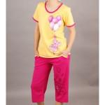 Dámské pyžamo kapri Slon s balónky