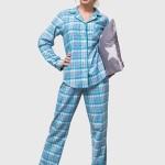 Dámské pyžamo Key LNS 417 B6 2XL-3XL