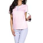 Dámské pyžamo Klaudie světle růžové