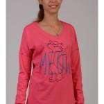 Dámské pyžamo kočka Meow 4399 – Vienetta