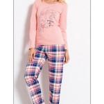 Dámské pyžamo Králík a podkova 2122 – Vienetta