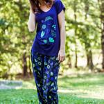 Dámské pyžamo LHS 571 A8 – KEY