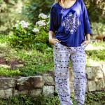 Dámské pyžamo LHS 830 A8 – KEY