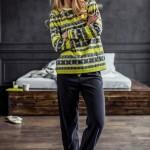 Dámské pyžamo LHS 987 B7 – Key
