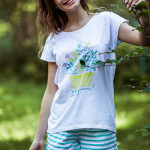 Dámské pyžamo LNS 055 A8 – KEY
