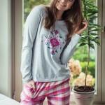 Dámské pyžamo LNS 429 B8 – Key