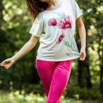 Dámské pyžamo LNS 565 A8 – KEY