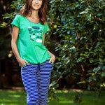 Dámské pyžamo LNS 632 A8 – KEY