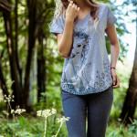 Dámské pyžamo LNS 799 A8 – KEY
