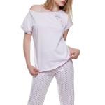 Dámské pyžamo Love růžové