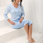 Dámské pyžamo Luna 606 kr/r M-2XL