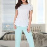 Dámské pyžamo M-Max Diana 619 kr/r S-XL