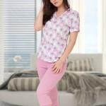 Dámské pyžamo M-Max Gizela 623 kr/r M-XL