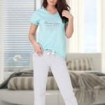 Dámské pyžamo M-Max Luiza 631 kr/r  S-2XL